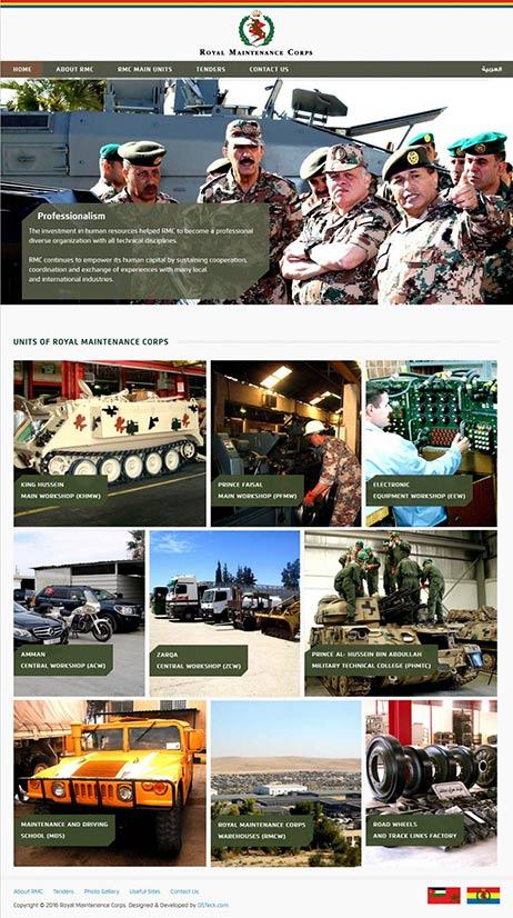 Royal Maintenance Corps – Jordan