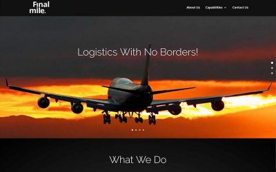 New Website Launch – Final Mile Logistics
