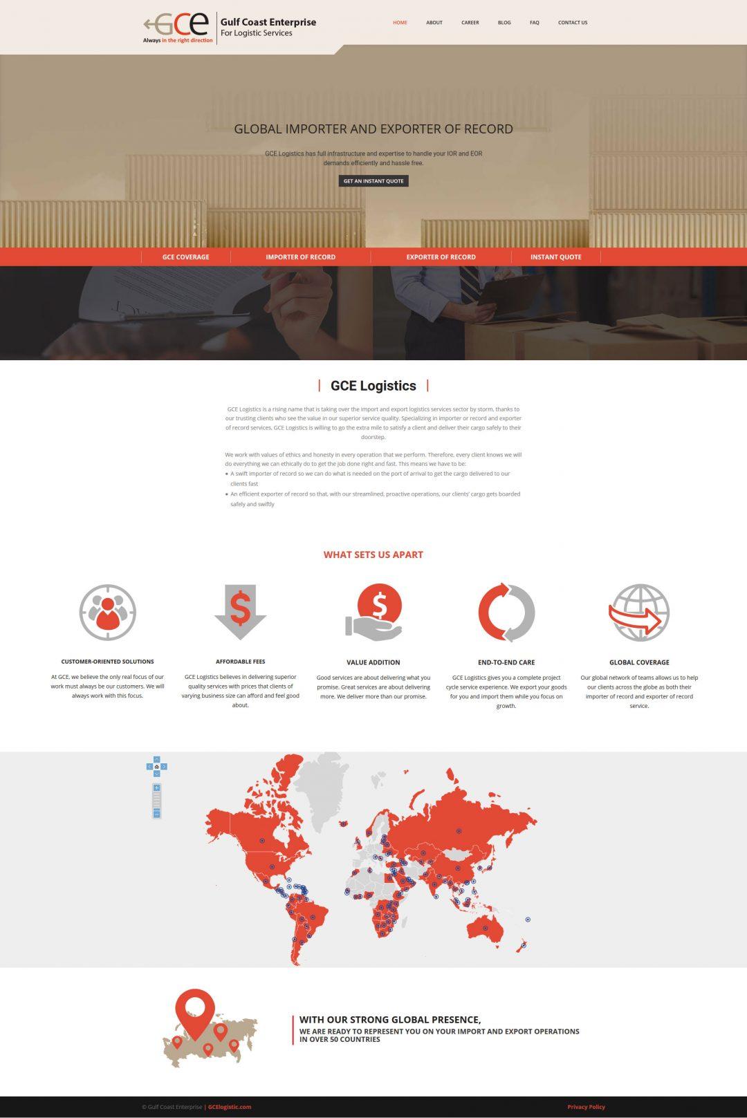 Gce Logistic IOR Service.com – Jordan