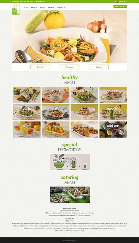 Soulfull Restaurant – UAE