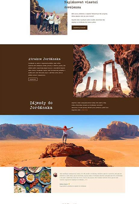 Poznej Jordansko – Czech Republic / Jordan