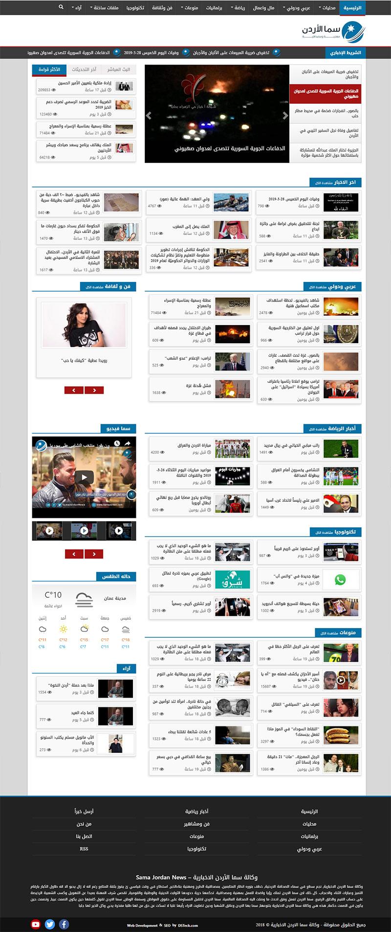 Sama Jordan News – Jordan